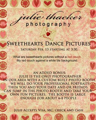Sweet hearts dance email